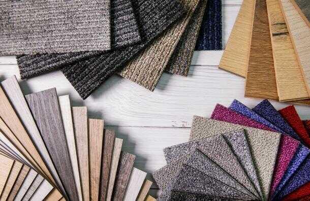próbki wykładzin dywanowych
